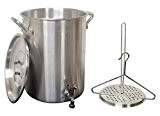 King Kooker 30PKSP 30-Quart Aluminum Stock Pot by King Kooker