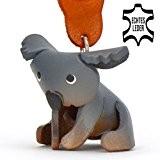 Koalabär Koko - kleiner Koala Schlüssel-Anhänger aus Leder, eine tolle Geschenk-Idee für Frauen und Männer im Zoo-Zubehör, Stofftier, Kuscheltier, Koalabaer ...