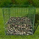Komposter Gartenkomposter Drahtkomposter Biokomposter Garten Metall Bio 567 ltr.