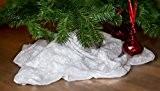 Kunstschneedecke zur weihnachtlichen Dekoration, Maße: ca. 90 x 240 cm, Kunstschnee, Kunstschneedecke, Tischband, Tischläufer