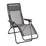 Lafuma Relax-Liegestuhl, klappbar und verstellbar, Futura Batyline, Graphite, LFM3062-7660
