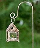 Laterne mit Laternenstab, Windlicht für Kerze oder Teelicht + Stab