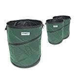 Laubsack 3er Set Abfallsack 160 Liter Pop up für den Garten