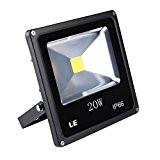 LE 20W Ultraheller LED Fluter, LED Flutlicht, ersetzt 200W Halogenlampe, wasserdicht, 1300lm, Warmweiß, LED Flutlicht, LED Außenleuchten, LED Flutlichtstrahler, LED ...