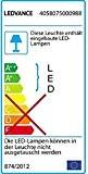LEDVANCE Damp Proof Housing - Gehäuse für 1 LED Röhre in Feuchtraumanwendungen, 150 cm Länge, IP65