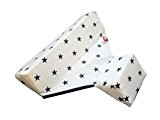 Linden 44156 Seitenlagerungskissen Design, sterne weiß
