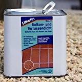 Lithofin Balkon- und Terrassendicht | schützt, macht wasserdicht und regendicht | Ergiebigkeit: ca. 7-15 m²/L