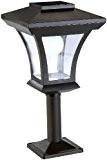 Lunartec Solar-LED-Standleuchte SWL-05, 45 Lumen, 0,3 Watt
