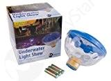 MemoryStar Unterwasserlichtshow mit 4 LED 70055 - Abschaltautomatik - Unterwasserlicht Poollicht - 7 verschiedene Lichtshows - INKL. BATTERIEN - DEUTSCHE ...
