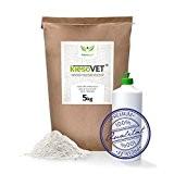 NaturaForte KiesoVet® 5 kg Kieselerde-Kieselgur inkl. Stäubeflasche - Naturprodukt für Tiere