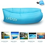 ** NEUE VERSION ** Thicker & Longer - Lifeasy - Outdoor Wasserdicht Aufblasbare Air Sofa Couch Portable Kompression Schlaf-Liege für ...