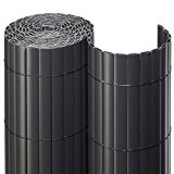 NOOR Sichtschutzmatte PVC 0,9x3m ANTHRAZIT