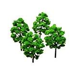 NUOLUX Modellbaum Bäume Mini Set Landschaft Landschaft 25 Stück