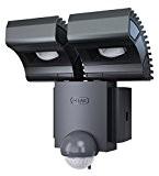 OSRAM LED-Spot /Noxlite / Außenlampe / Außenstrahler 60° schwenkbar und 70 ° kippbar /Bewegungsmelder / Dämmerungssensor / anthrazit / kaltweiß ...