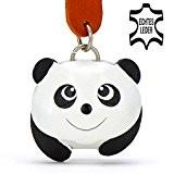 Pandabär Panda - kleiner Pandabaer Schlüssel-Anhänger aus Leder, eine tolle Geschenk-Idee für Frauen und Männer im Zoo-Zubehör, Stofftier, Kuscheltier, gigante, ...