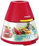 Philips Disney Cars LED Projektor Tischleuchte, rot, 717693216
