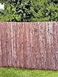 Praktischer Sichtschutz aus Rinde 2 m x 3 m (7,5 EUR / 1 m²)
