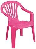 Progarden Stuhl Kindermonoblock Sedia, Baby, rosa