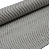 PVC Sichtschutzmatte 100x500cm Grau Windschutz Sichtschutz Doppelstabmatten Gartenzaun Terrasse Zaun NEU