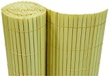 PVC Sichtschutzmatte 180x1000cm bambus