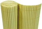PVC Sichtschutzmatte 180x500 cm bambus