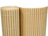 PVC Sichtschutzmatte 180x500 cm creme