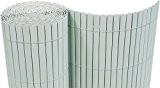PVC Sichtschutzmatte 90x500 cm hellgrau