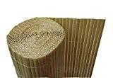 PVC Sichtschutzmatte Balkon Sichtschutz 180x1000cm Windschutz Gartenzaun bambus