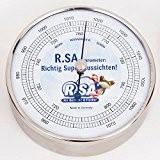 R.SA Böttcher & Fischer Barometer 15.01 mit Edelstahlgehäuse