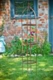 Rankgerüst 10mm Massiveisen! Obelisk Blumenhilfe 160cm Rankgitter