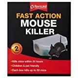 Rentokil Fast Action Maus Killer 2 Pre- Köder -Boxen