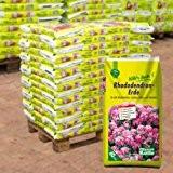 Rhododendron-Erde auf Palette - 60 Säcke à 40 Liter Blumenerde für Moorbeetpflanzen - Gärtnerqualität - Kölle's Beste Erde für Rhododendron, ...
