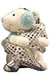 SALE SALE - Zauberhaft süsser Eisbär mit Ohrenschützer und einem Tannenbaum - niedliche Plüsch - Figur mit Musik und Bewegung ...