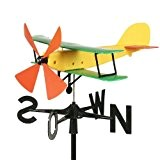 Schumm Flugzeug, 55 x 47 x 33 cm, gelb