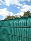 Sichtschutz Zaun HDPE grün 180 cm x 500 cm (RAL 6005)