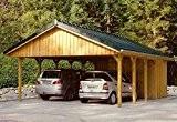 Skan Holz Carport Sauerland 620 x 750 cm kdi