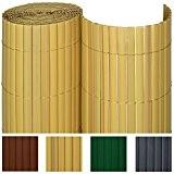 Sol Royal PVC Sichtschutz-Matte SolVision - 100x500cm Bambus - Windschutz Sichtschutz-Zaun fr Garten oder Balkon