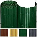 Sol Royal PVC Sichtschutz-Matte SolVision - 180x500cm Grn - Windschutz Sichtschutz-Zaun fr Garten oder Balkon