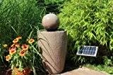 Solar Springbrunnen 80 cm Gartenbrunnen Brunnen Solarbrunnen