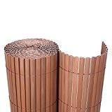 Songmics PVC Sichtschutzmatte 80 x 700 cm (Zusammengesetzt aus 2 Matten mit 1 x 300 cm + 1 x 400 ...