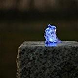 Springbrunnen Beleuchtung LED Ring blau Kranz Lichtkranz für 3er Starterset