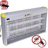 Stop and Kill Elektrischer Insektenvernichter, 40 W (2 x 20 W) Neonröhren mit UV-Strahlern für Haus / Garten, 220 V ...