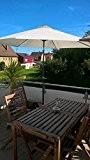 storm-proof - Sonnenschirm Halter Balkon Geländer - Durchmesser 30mm - 60mm