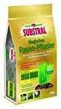Substral Magisches Rasen-Pflaster - Rasenreparatur - Mischung aus Rasensamen, Premium Keimsubstrat und Dünger - 9 kg für bis zu 40 ...