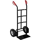 TecTake® Profi Sackkarre Transportkarre Stapelkarre 200kg belastbar schwarz