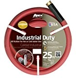 TEKNOR-APEX COMPANY - Industrial Hot Water Hose, 3-Ply Rubber, 5/8-In. x 25-Ft.
