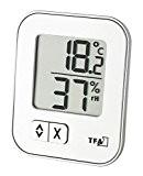 TFA Dostmann Thermo-Hygrometer MOXX Digitales 30.5026.02, weiß