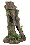 Trixie 8857 Felsen mit Höhle/Pflanzen, stehend 28 cm
