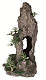 Trixie 8858 Felsen mit Höhle/Pflanzen, stehend 37 cm