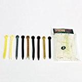 Videx-Befestigungsschlaufen Kunststoff PU für Sichtschutzmatten, PU, anthrazit, 25 Stück